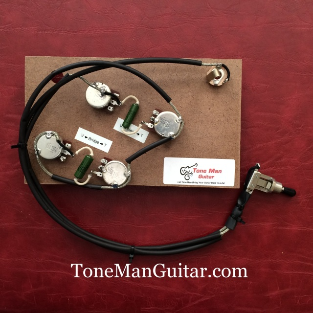 Es175 Gibson Upgrade Wiring Harness With Pio Tone Caps