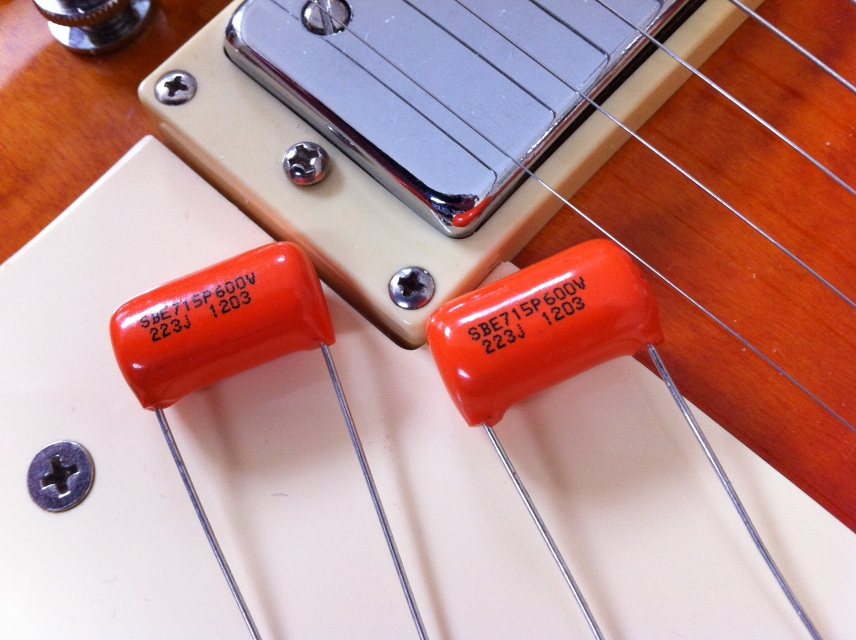 Guitar Tone Capacitors